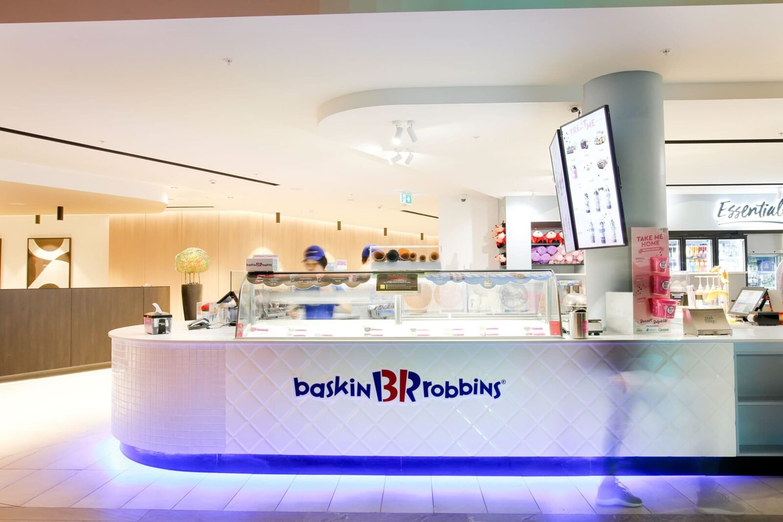 Baskin Robbins _ Hospitality Fit-Out _ ImpeccaBuild _ Bankstown (11)