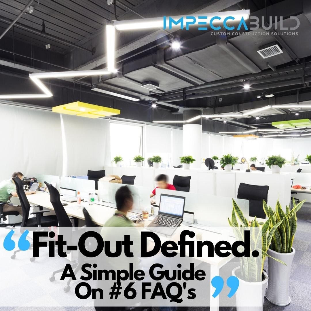 Fit Out Meaning