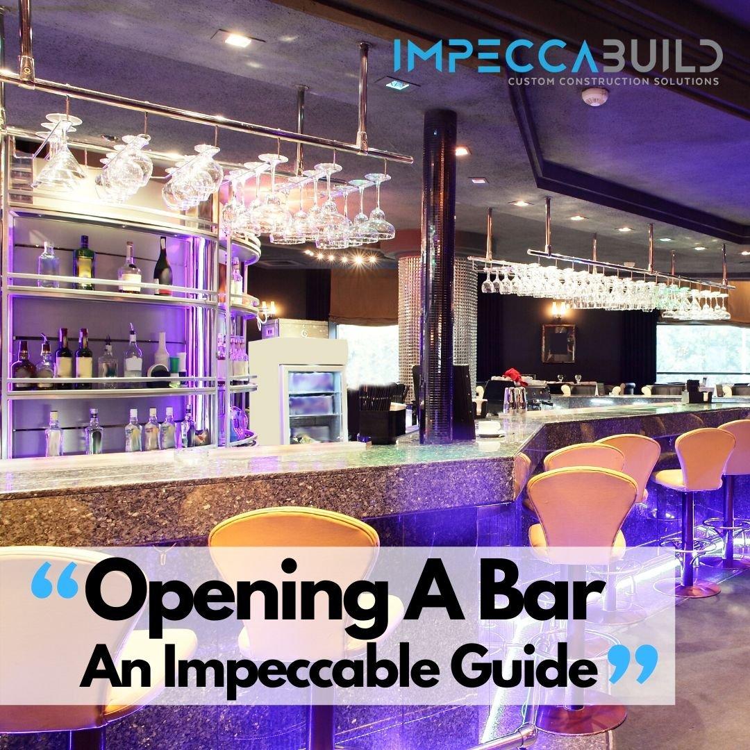 Opening a bar in sydney