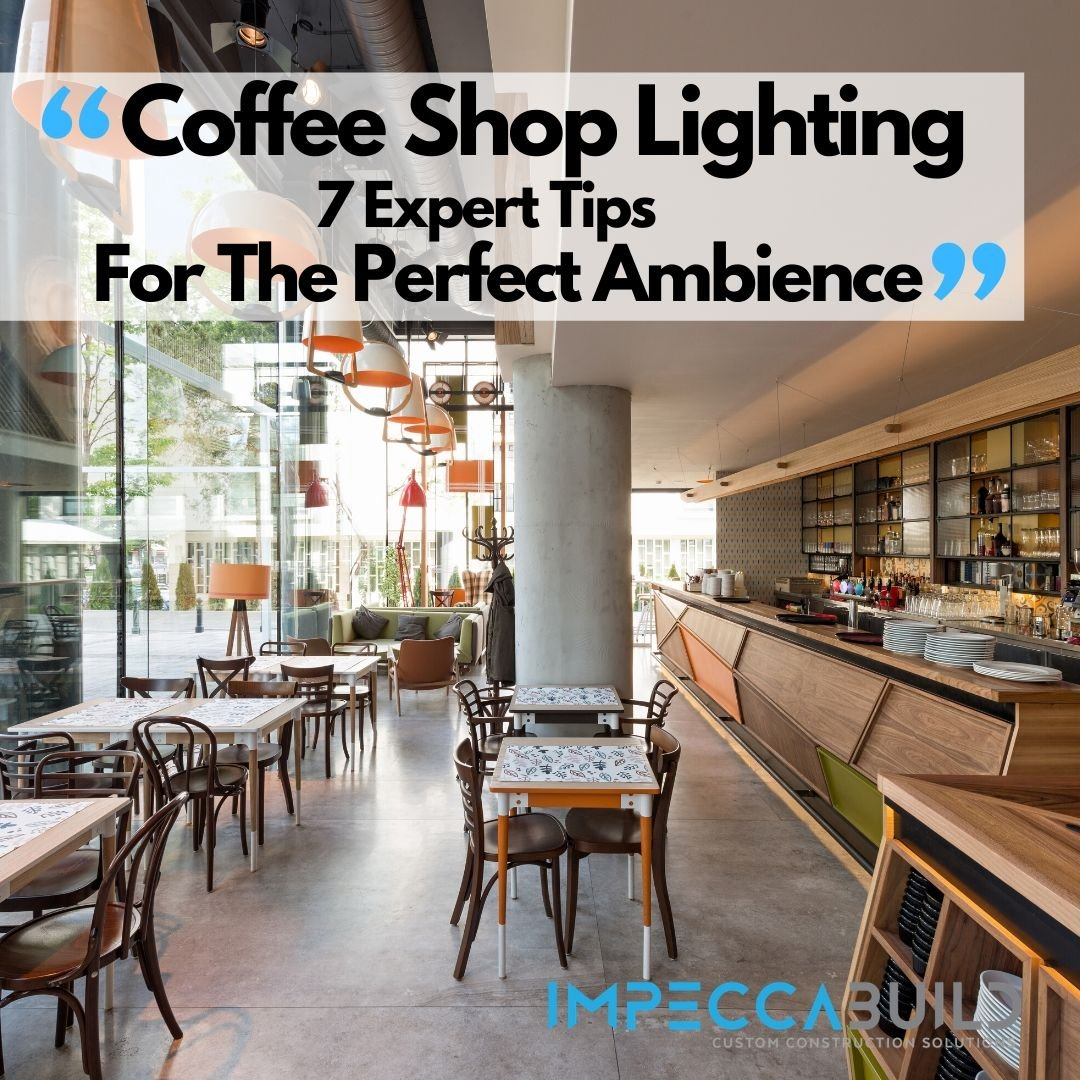 7 Coffee Shop Lighting Tips For The Perfect Ambience