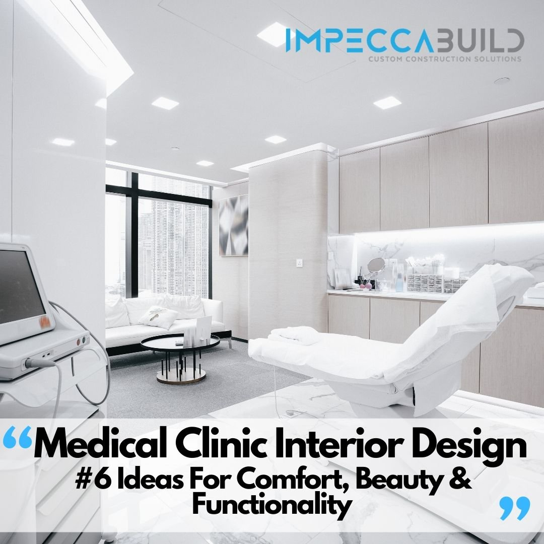 6 Medical Clinic Interior Design Ideas For Comfort, Beauty & Functionality