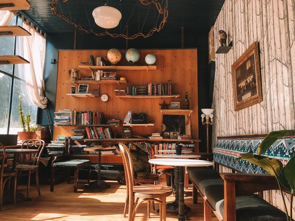 Cafe Theme Ideas | Library Cafe Fitout | ImpeccaBuild