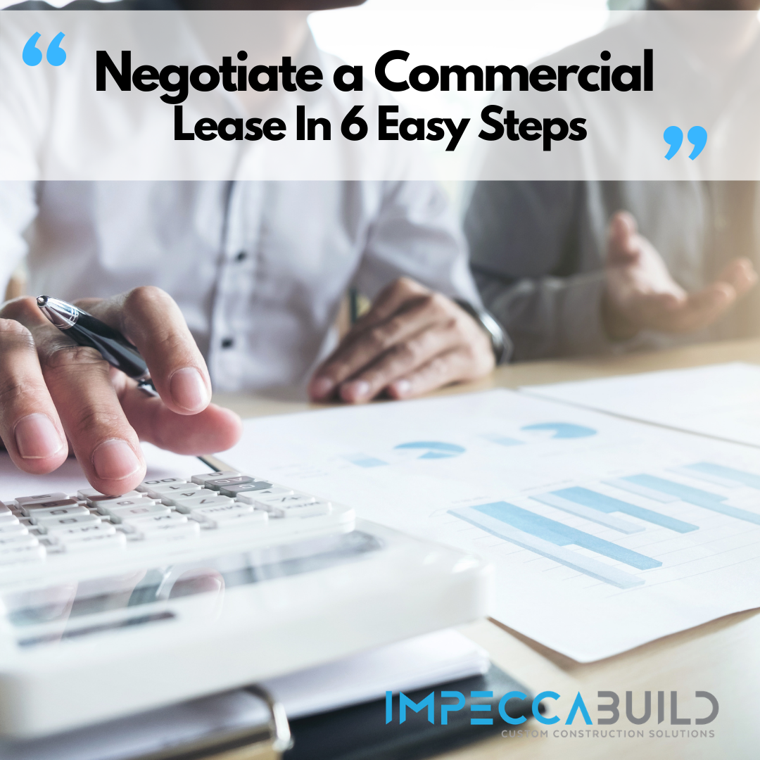 How to Negotiate a Commercial Lease in 6 Easy Steps